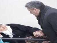 İl Başkanı Kalaycı, Acil Servis'te yatan hastaları ziyaret etti