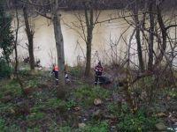 Irmak kenarlarında hummalı çalışma