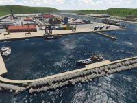 Filyos Limanı'nda inşaat çalışmaları devam ediyor
