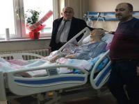 Dernek Başkanı Altunok'dan Kore Gazisine geçmiş olsun ziyareti