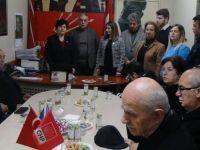 CHP Kozcağız Belediye Başkan Adayını Tanıttı
