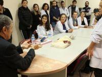 Başkan Akın'dan 2 eğitim kurumuna ziyaret