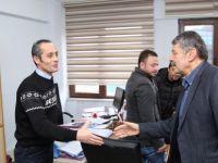 İŞ-KUR Müdürü Arslan ve personeline ziyaret