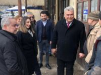 CHP Başkan Adayı Arslan, sahaya indi