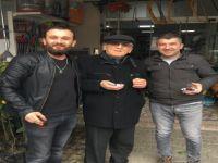 Dernek Başkanı Altunok'tan Fahri Üye Bayar'a ziyaret