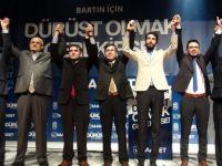 Saadet Partisi Belediye Başkan Adaylarını Tanıttı
