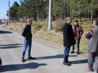Akın, Köypark Proje Alanını İnceledi
