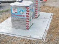 Şehit Ahmet Uğur Sokak'ta çöpler yeraltına alındı