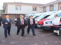 Bartın'da 7 yeni ambulans daha hizmete alındı
