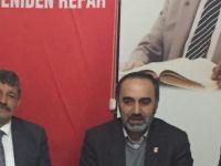 Başkan Akın'dan Yeniden Refah Partisine hayırlı olsun ziyareti