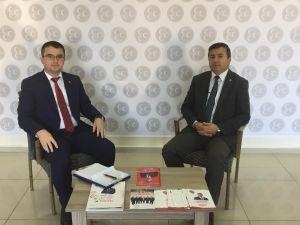 İl Başkanı Özçelik, Engin'in sorularını yanıtladı